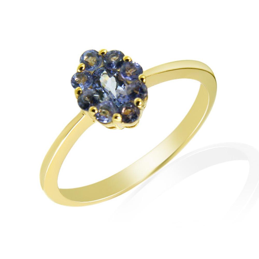 9 Carat Gold Tanzanite Ring