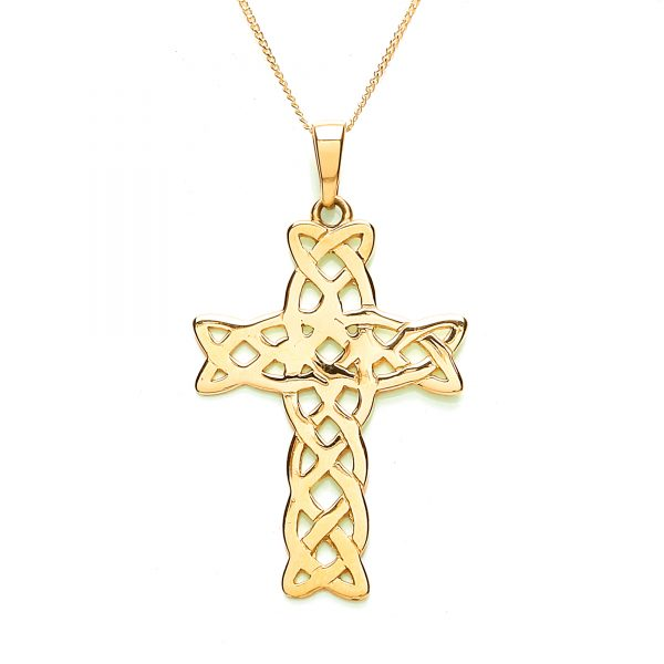 9 Carat Gold Cross Pendant