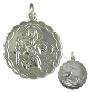 Sterling Silver St. Christopher