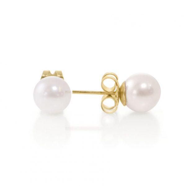 Akoya Stud Pearl Earrings