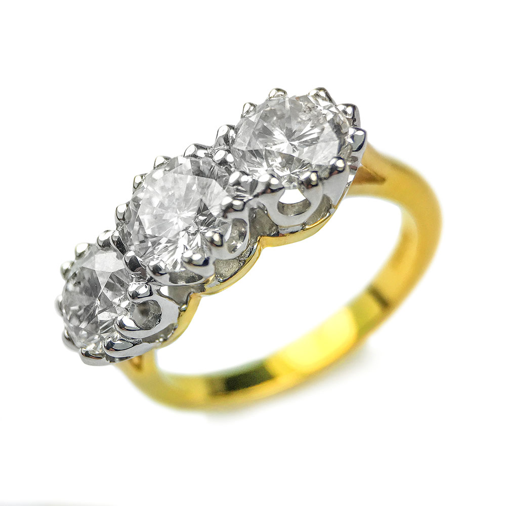 thomson g diamond precious wedding yellow carat w engagement and ring emerald gold