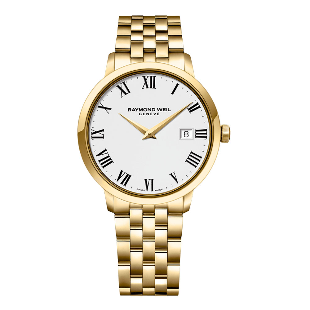 Raymond Weil Gold plated Gents Watch