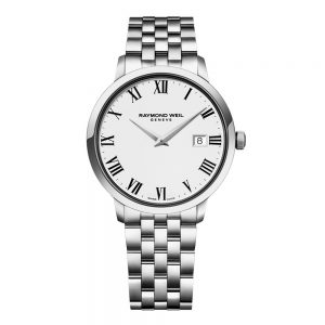 Raymond Weil Steel on steel quartz watch