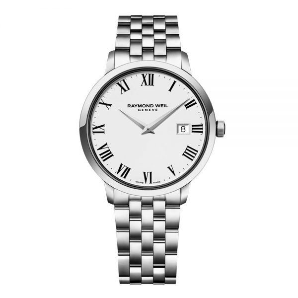 Raymond Weil Steel on steel quartz watch