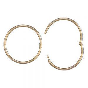 Gold Sleeper earrings