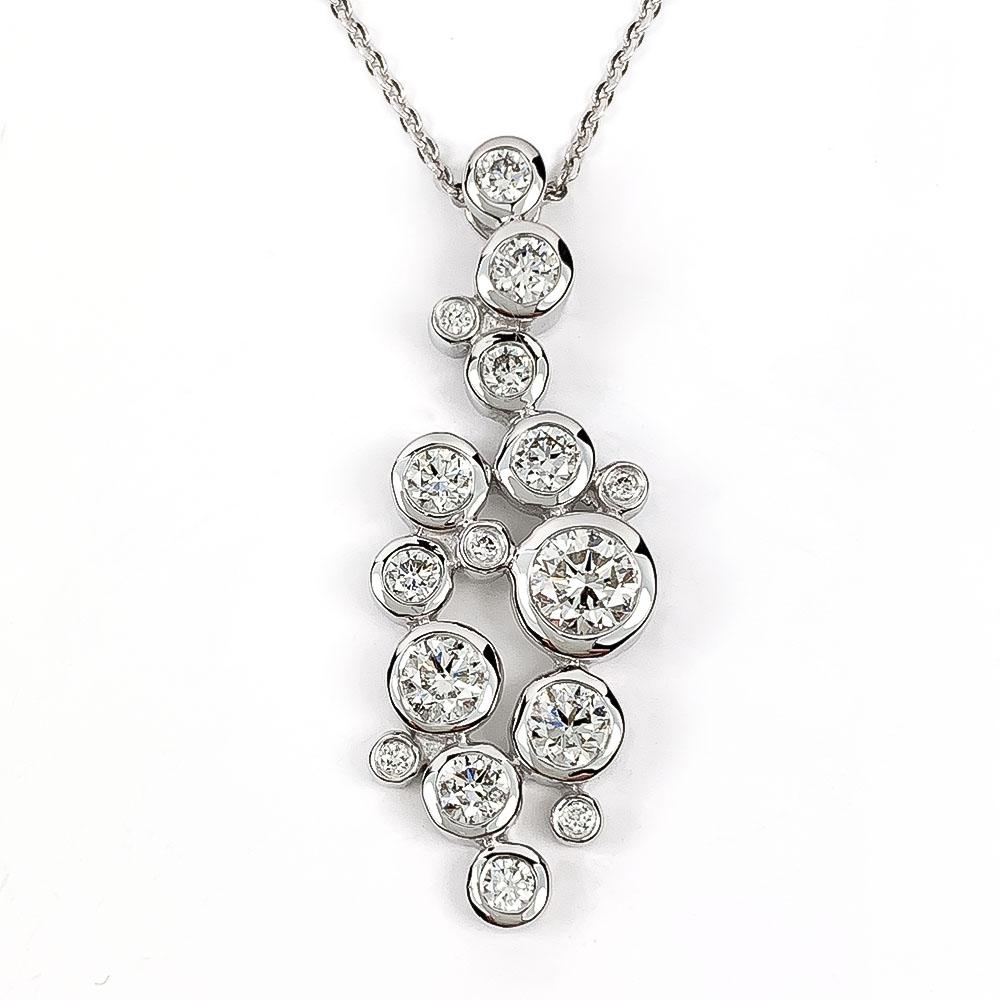 Diamond Bubble Pendant
