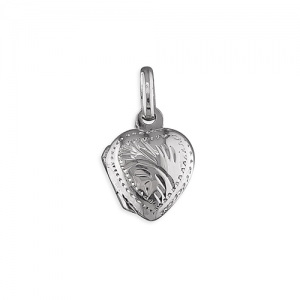 Silver Heart Locket