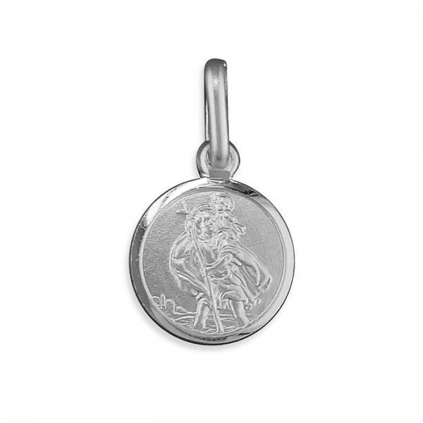 Small Silver St. Christopher
