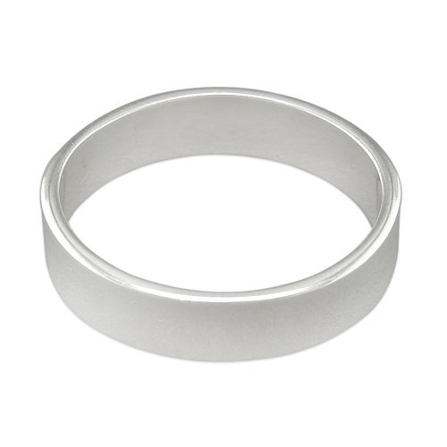 6mm heavy flat wedding band