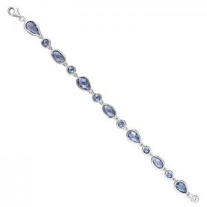 Silver and CZ Bracelet