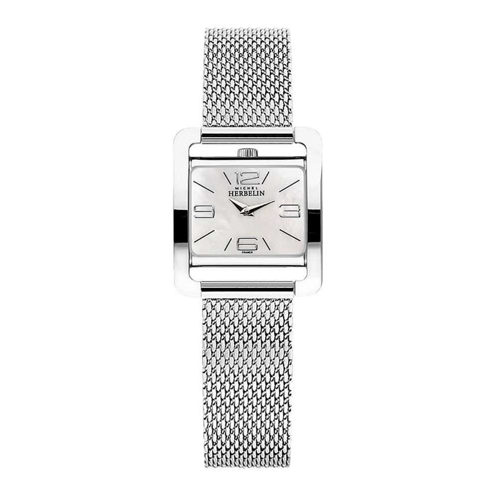 Michel Herbelin Women's Mesh Bracelet Watch