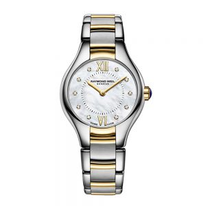 Raymond Weil Noemia Ladies Quartz Two-Tone 10 Diamond Watch