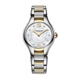 Raymond Weil Noemia Ladies Quartz Two-Tone 10 Diamond Watch