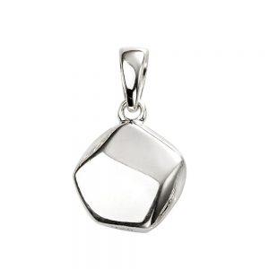 Silver Pebble Pendant