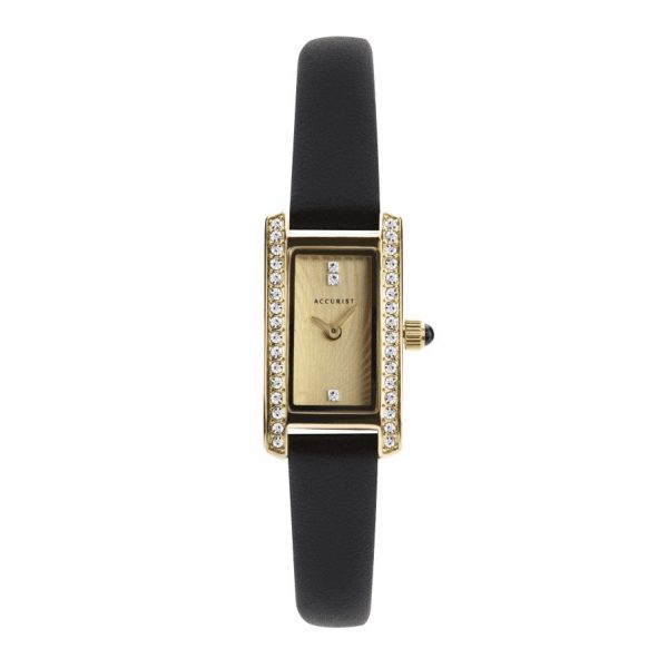 Accurist Ladies stone set watch