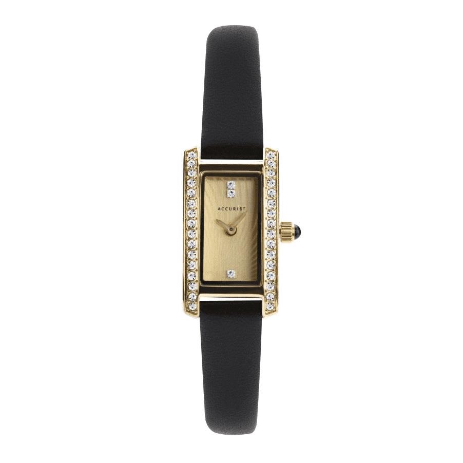 Accurist Ladies stone set watch