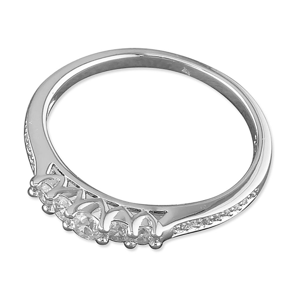 Silver & CZ Ring