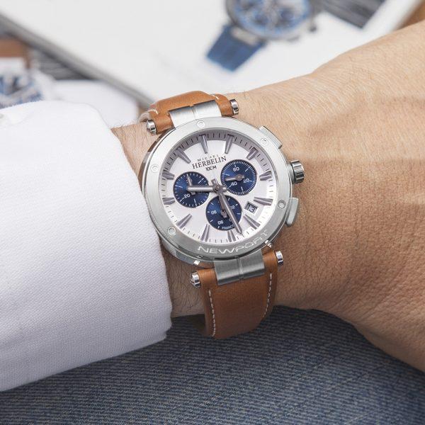 Michel Herbelin Newport Watch