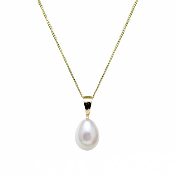 Teardrop Cultured River Pearl Pendant